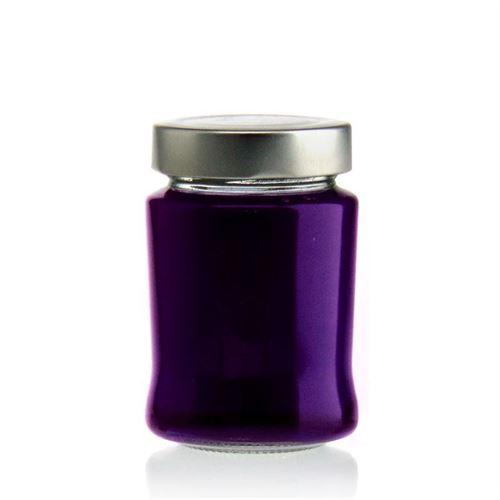 """220ml round design jar """"Delicat"""""""