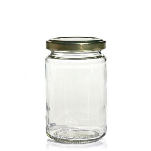 225ml Marmeladenglas mit Twist Off 58