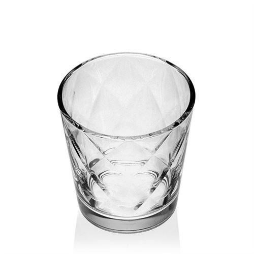 "240ml drinking glass ""Diamond"""