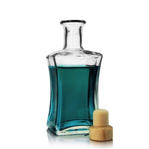 """250 ml flaske i klart glas """"Lilli"""""""