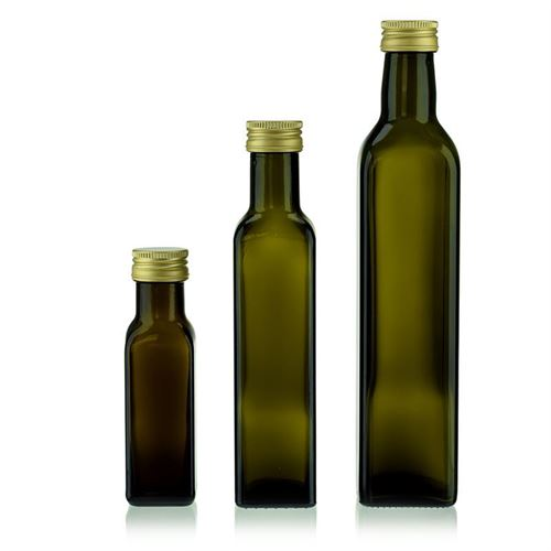 250ml antikgrüne Flasche Marasca
