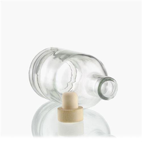 """250ml bottiglia in vetro chiaro """"First Class"""""""