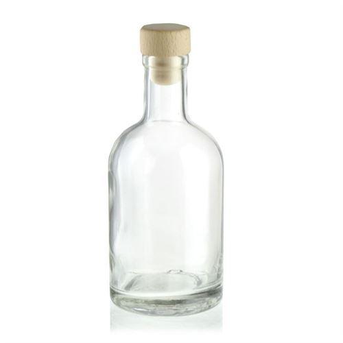 "250ml bouteille en verre clair ""First Class"""