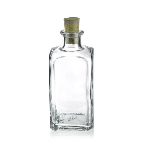 Ml Clear Glass Bottle Apo Carree