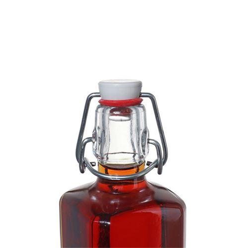"""250ml quadratische Flasche """"Rialto"""""""
