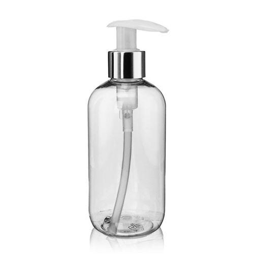 "250ml PET-Flasche ""Boston"" Dispenser ""Deluxe"""