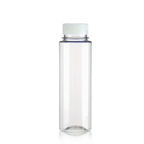 "250ml Bottiglia PET a collo largo ""Everytime"" bianco"