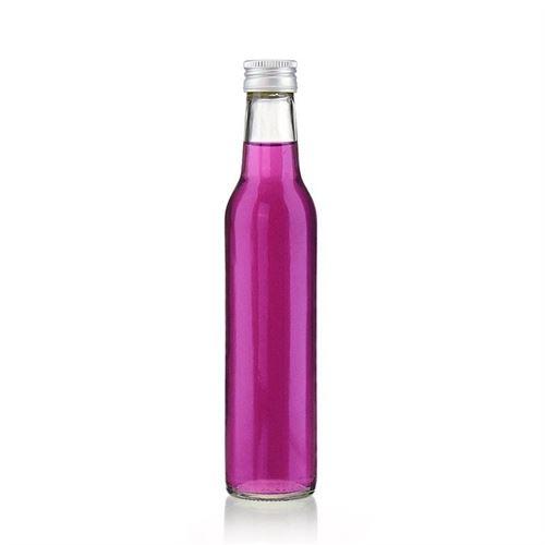 250ml Bottiglia cilindrica con bocca avvitatura