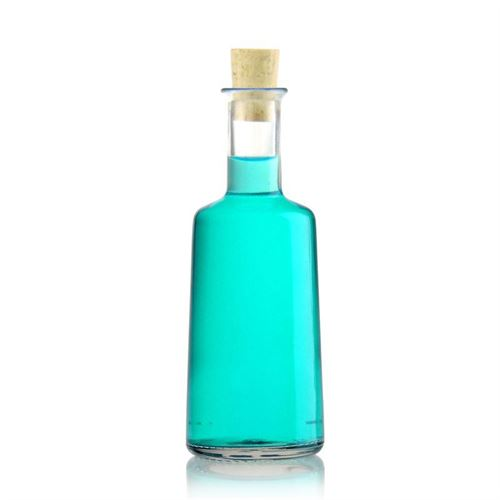 """250ml Bottiglia in vetro chiaro """"Christiano"""""""