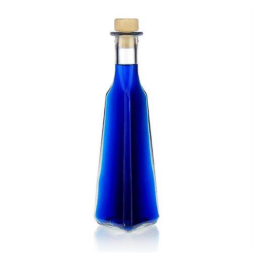 """250ml Bottilglia in vetro chiaro """"Manuel"""""""