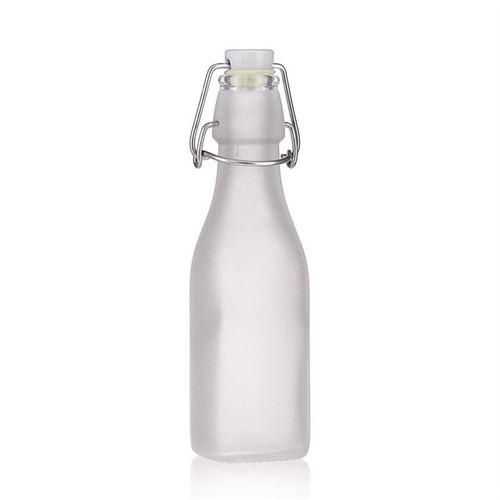 """250ml Bügelverschlussflasche """"Jumper"""" (mattiert)"""