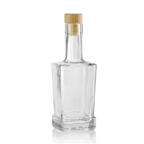 "250ml Klarglasflasche ""Rene"""