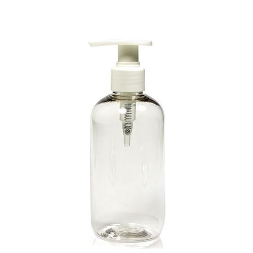 "250ml PET-flaske ""Boston"", med dispenser"