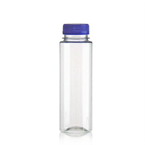 """250ml PET flaske med bred hals """"Everytime"""" blå"""
