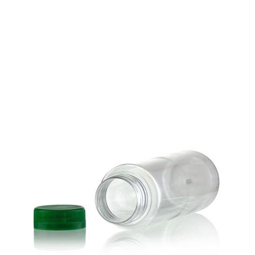 """250ml PET flaske med bred hals """"Everytime"""" grøn"""