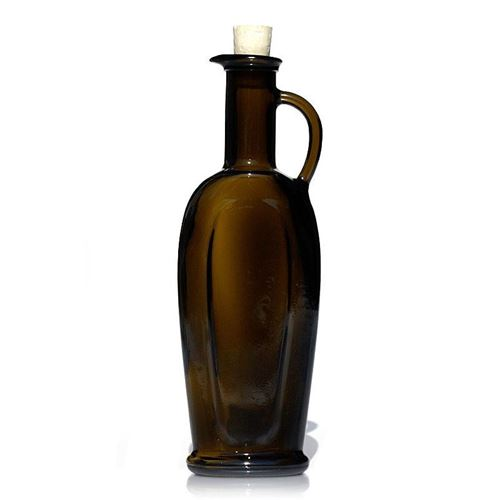 "250ml ancient green vinegar-oil bottle ""Eleganta"""