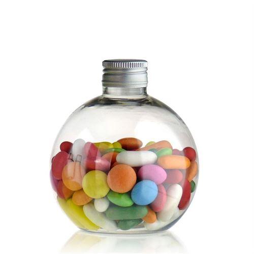 """250ml ballförmige PET-Flasche """"Perry"""""""