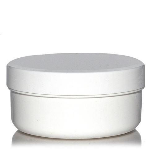 """250ml boîte avec couvercle à vis """"White Line"""""""