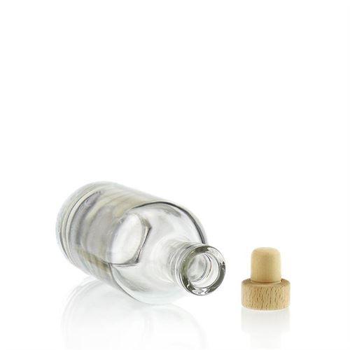 """250ml bouteille en verre clair """"Linea Uno"""""""