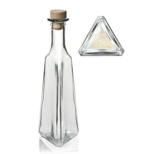"""250ml bouteille en verre clair """"Manuel"""""""
