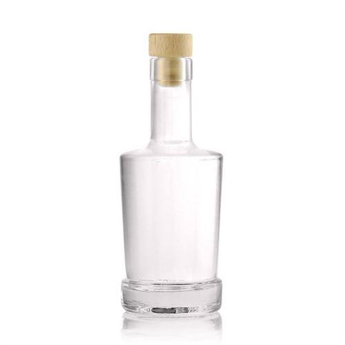 "250ml bouteille verre clair ""Deborah"""