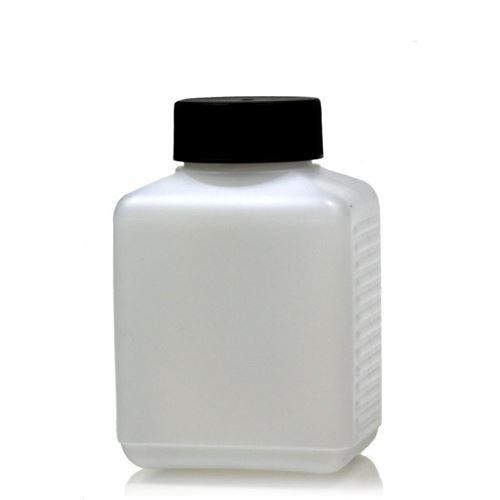 250ml firkantet flaske med bred hals