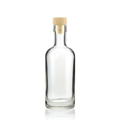 "250ml flaske i klart glas ""Linea Uno"""