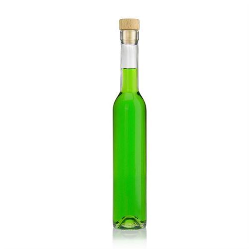 "250ml flaske i klart glas ""Maximo"""
