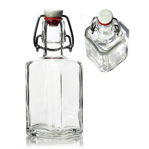"250ml kvadratisk flaske ""Rialto"""