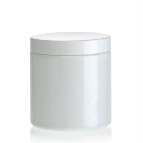 """250ml vasetto bianco in PET """"Bella Mia"""" bianco"""