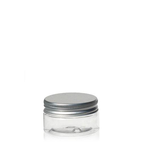 "25ml pot PET ""Bella Mia Mini"" - bouchon fileté aluminium"