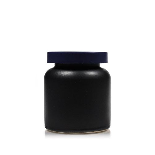 270ml Pot in ceramica nero-matto