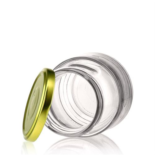 270ml decorative jar with handle incl. Twist Off 66