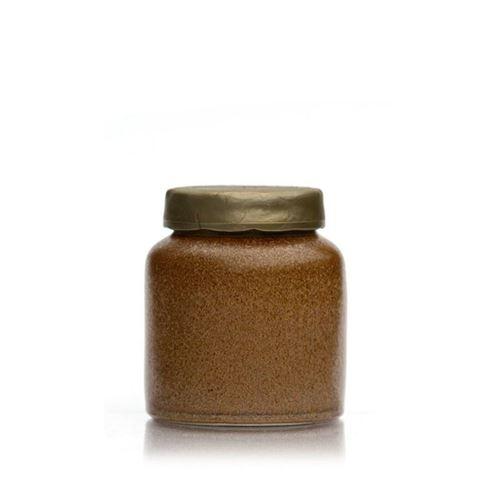 270ml pot en céramique brun-cristallisé