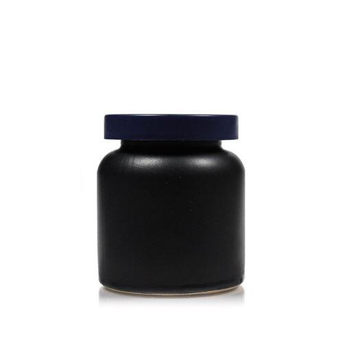 "270ml pot en céramique ""noir-mat"""