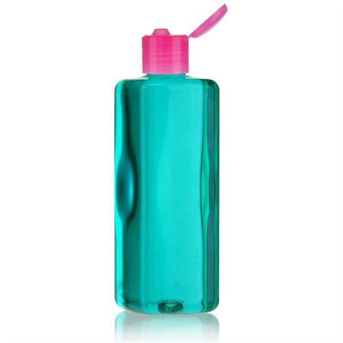 """300ml PET-Flasche """"Karl"""" pink mit Klappscharnier"""