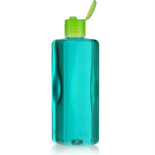 """300ml PET-flaske """"Karl"""" grøn, med klaplåg"""