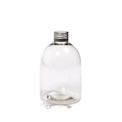 "300ml bouteille PET ""Alexa"" bouchon fileté aluminium"