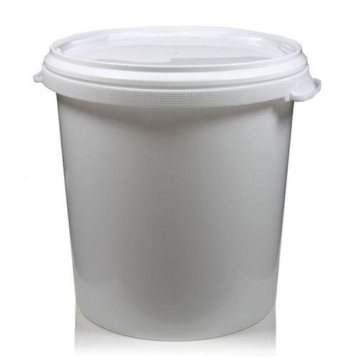30 liters spand, med låg