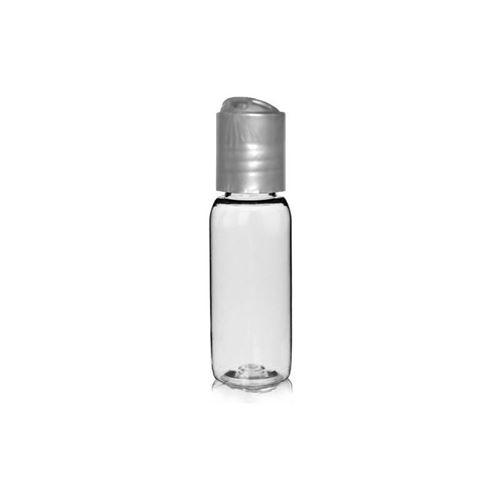 "30ml PET-Flasche ""Pegasus"" DiscTop silber"