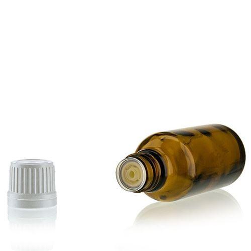 30ml bottiglia  medica marrone con contagocce a caduta