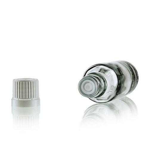30ml bottiglia medica trasparente con contagocce a caduta