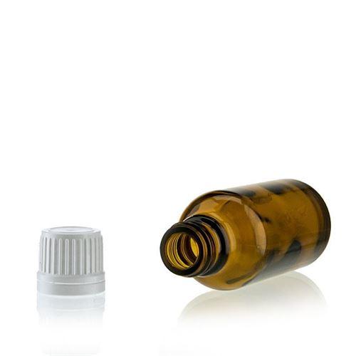 30ml flacon de médecine brun avec fermeture d'originalité