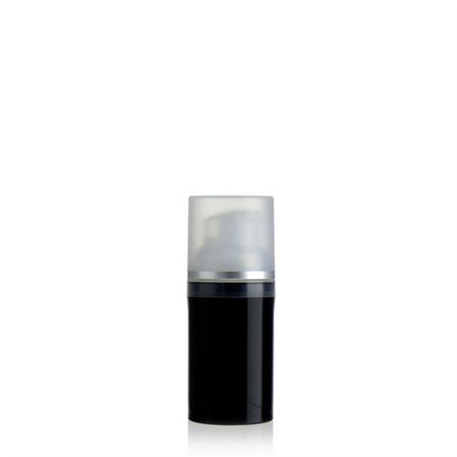 "30ml dispenser ""Airless"" black/silver line"