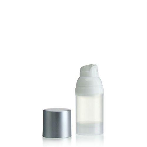 30ml Airless Dispenser natural/silver cap