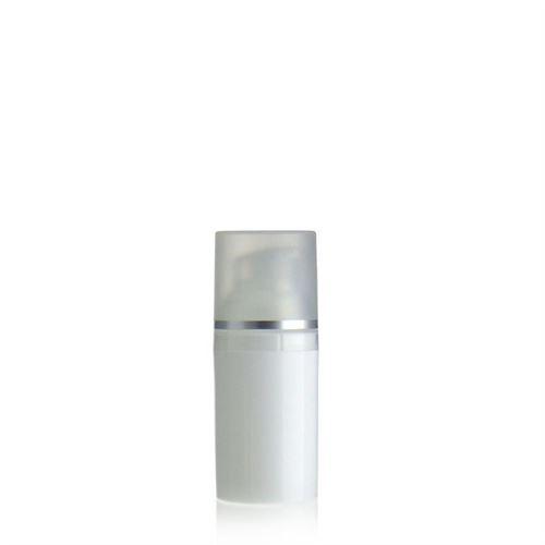 30ml Airless Dispenser white/silver line