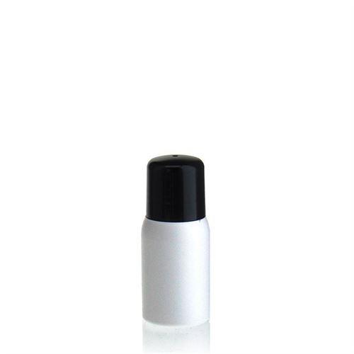 """30ml HDPE-flaske """"Tuffy"""" sort med sprøjteindsats"""