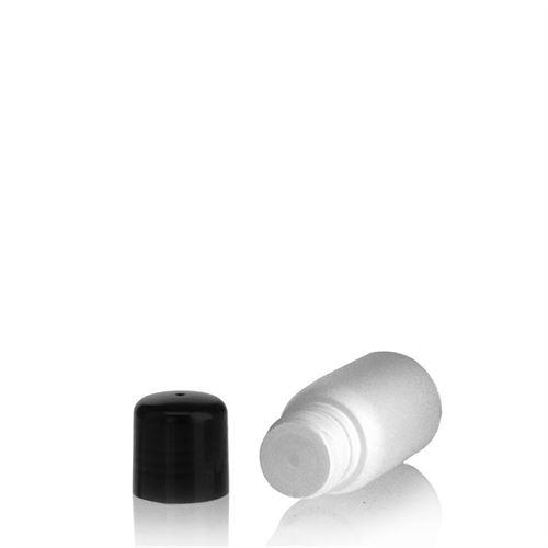 """30ml HDPE-fles """"Tuffy"""" zwart met doseerkop"""
