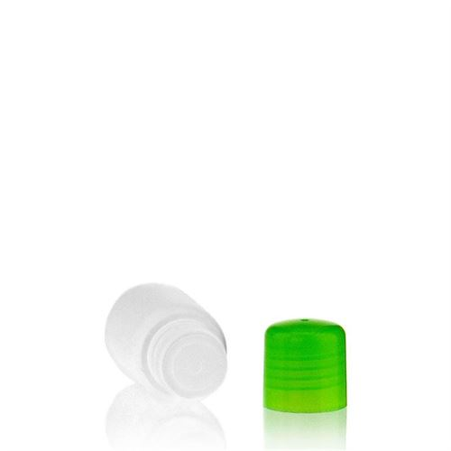 "30ml HDPE bottle ""Tuffy"" green with dispensing tip"