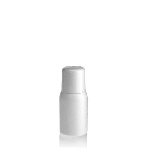 "30ml HDPE bottle ""Tuffy"" white with dispensing tip"